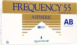 Cooper Vision Frequency 55 Aspheric Μηνιαίοι 6pack